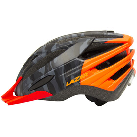 Lazer Vandal Helmet mat black camo/flash orange